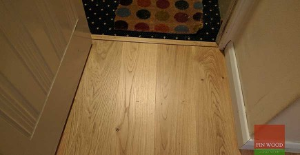 Oak Engineered Boards Installation in NW6 Hampstead, London