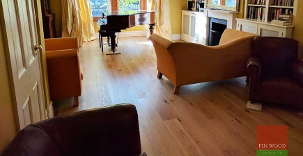 Natural Oak Boards in SW19 Wimbledon
