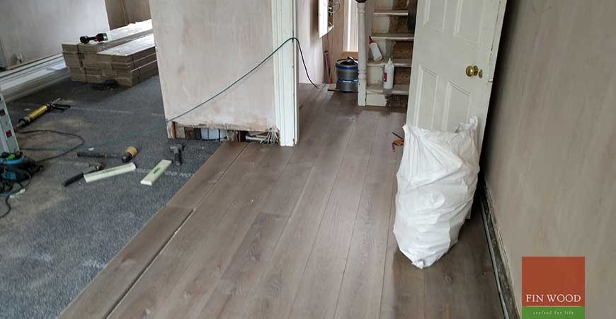 Subfloor levelling and Soundproofing in N1 Camden #CraftedForLife