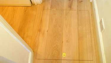 Access Panel in wooden floors #CraftedForLife