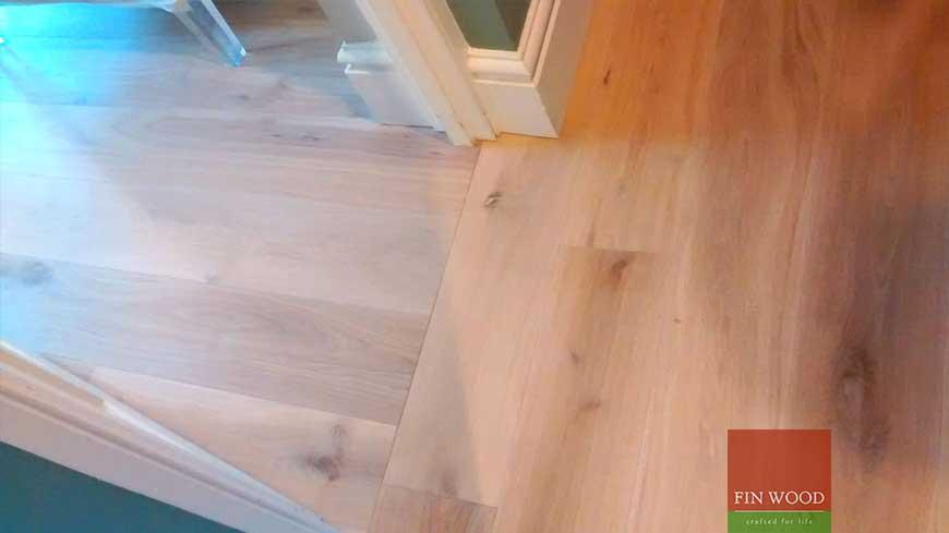 Direction change in wood flooring craftmanship 3