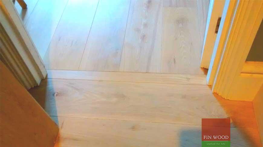Direction change in wood flooring craftmanship 7