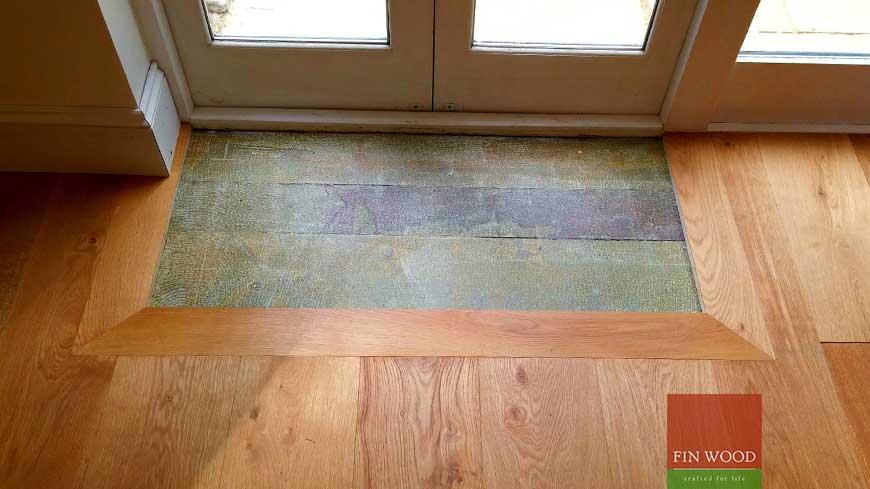 Integrated doormat in wooden flooring craftmanship 13
