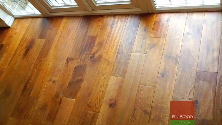 Precision finishing in wooden flooring craftmanship 2