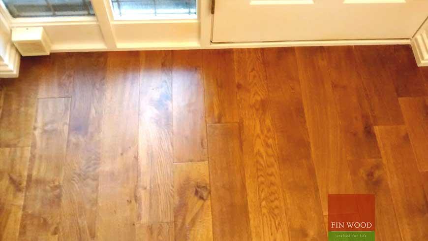 Precision finishing in wooden flooring craftmanship 4