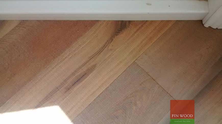 Precision finishing in wooden flooring craftmanship 16