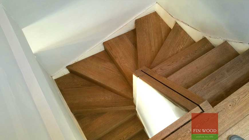 Stair cladding Craftmaship Project 1