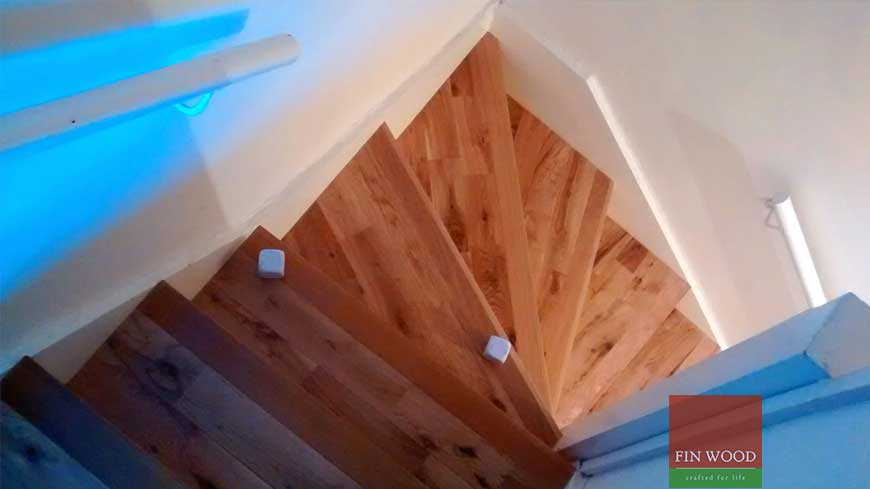 Stair cladding Craftmaship Project 6