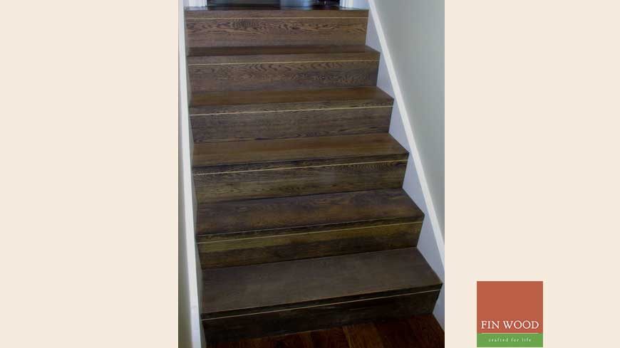 Stair cladding Craftmaship Project 7