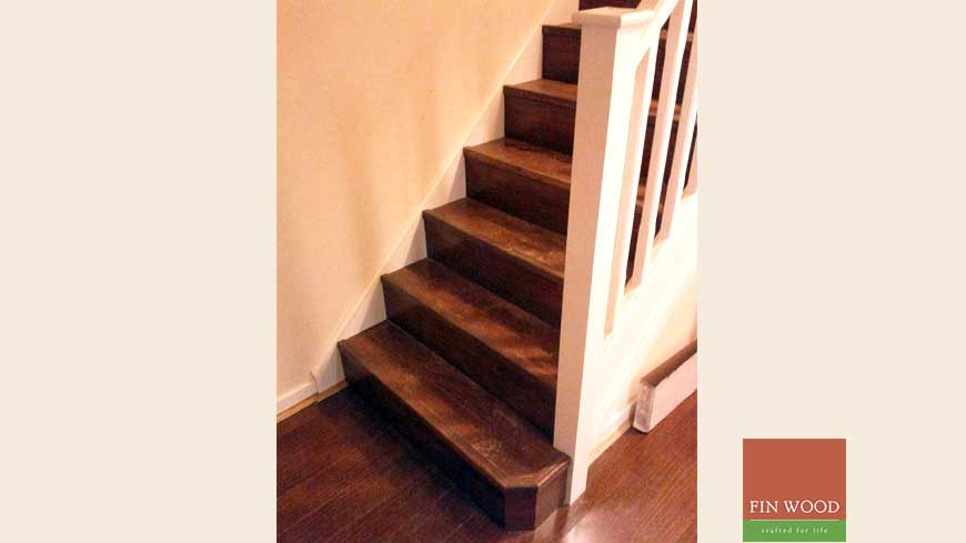 Stair cladding Craftmaship Project 9