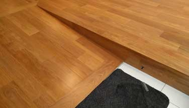 Precision Finishing in wood flooring