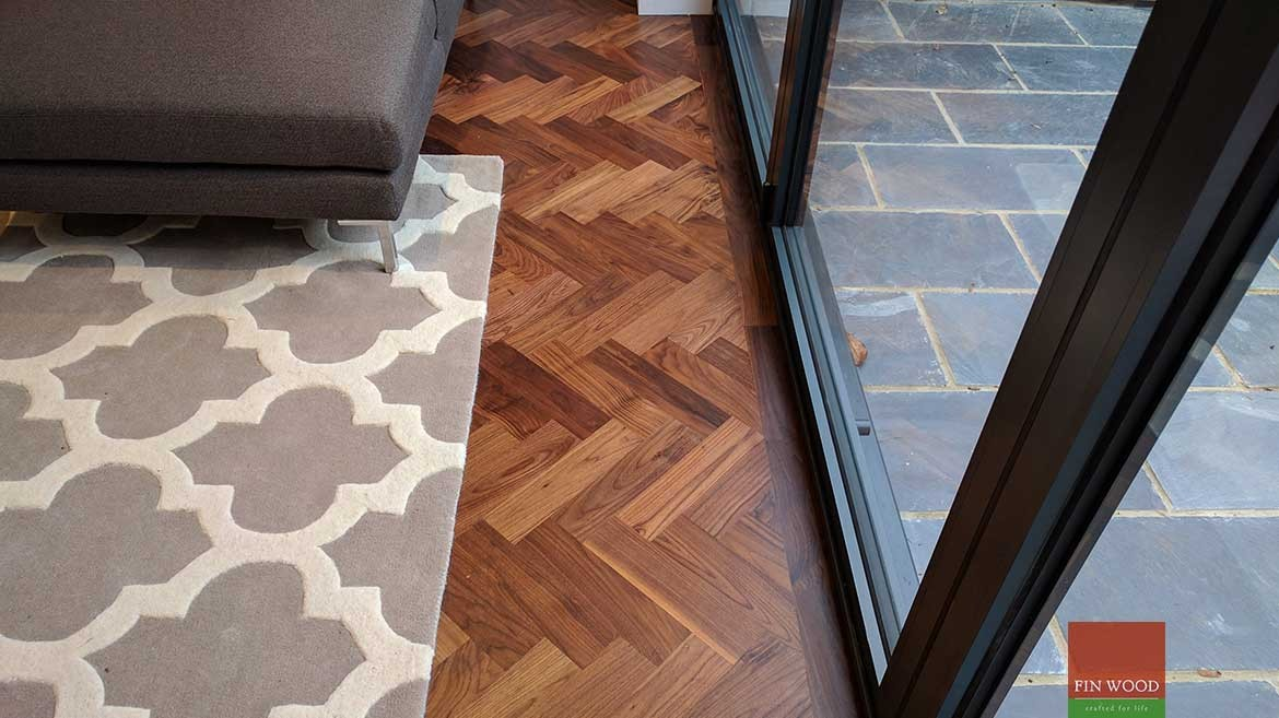 Wood Floor Joining To Bifold Doors
